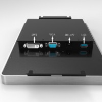 IPCLCD-1002电容触摸工业显示器