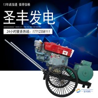 常柴ZS1110 12KW柴油发电机组
