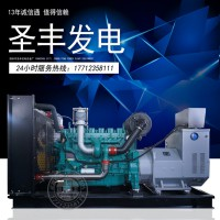 潍柴蓝擎WP13D440E310 400KW柴油发电机组