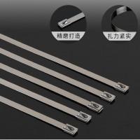 不锈钢扎带16*500mm钢珠自锁紧固,耐磨防腐实用性
